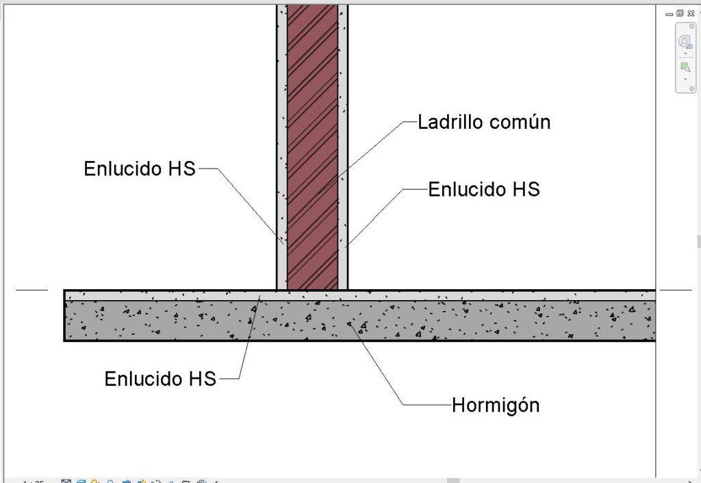 Muro y suelo compuesto en revit