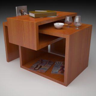 Diseño mobiliario en revit