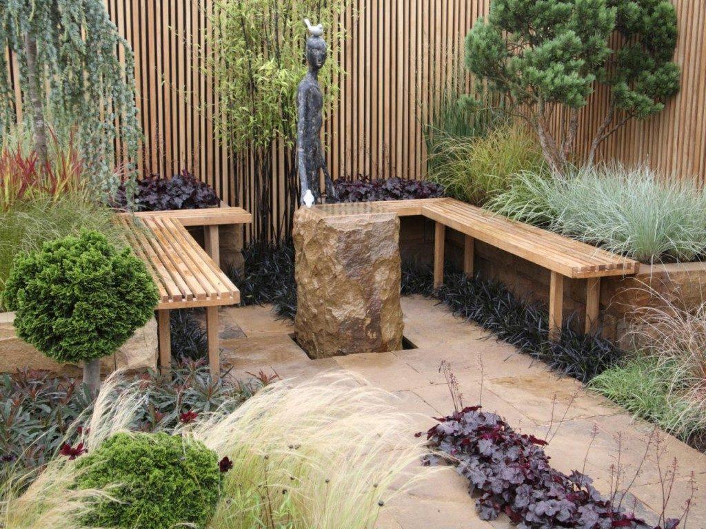 como diseñar patios exterior jardines