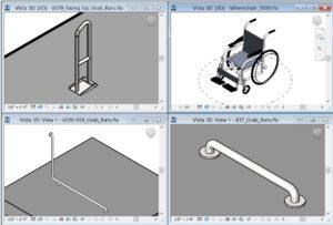 accesorios para discapacitados revit