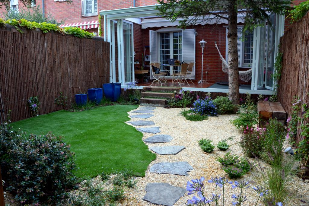 Como Disenar Patio Exterior Recomendaciones Arquitectura Bim - Patios-jardines-pequeos