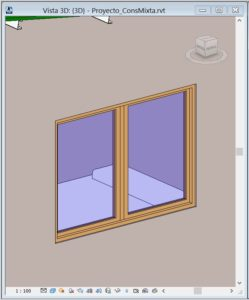 cuantificar metros cuadrados de ventana revit