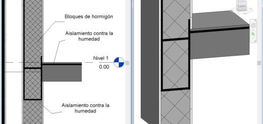 Formas de hacer capas aisladoras en muros Revit