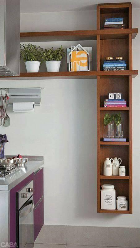 Diseño estanterías sencillo