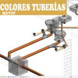 Colores tuberias por filtro en revit