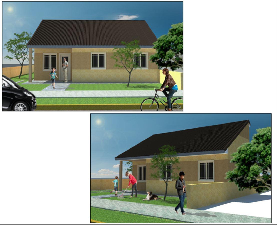 Propuestas de viviendas en light steel framing - Planos