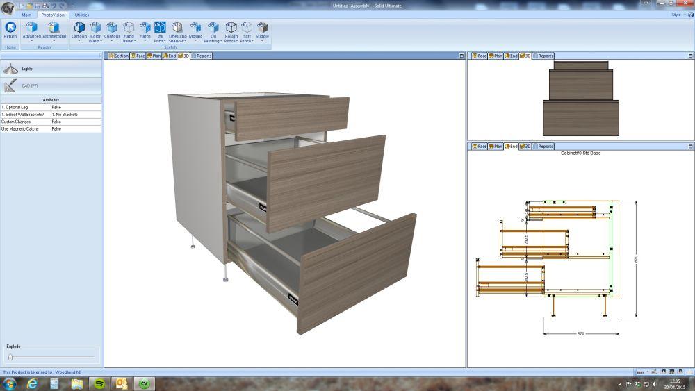 9 programas para dise ar mobiliarios arquitectura bim for Programas para disenar cocinas en 3d