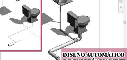 Diseño sanitario automático en revit
