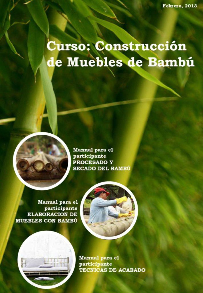 Aprende hacer muebles de bambú