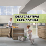 Ideas creativas para decorar cocinas con madera