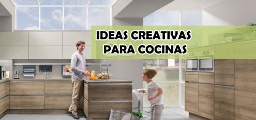 Ideas creativas para decorar cocinas con madera