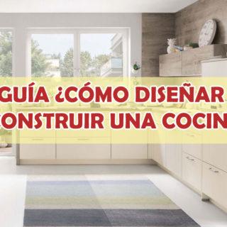 diseñar cocinas con acabados de madera