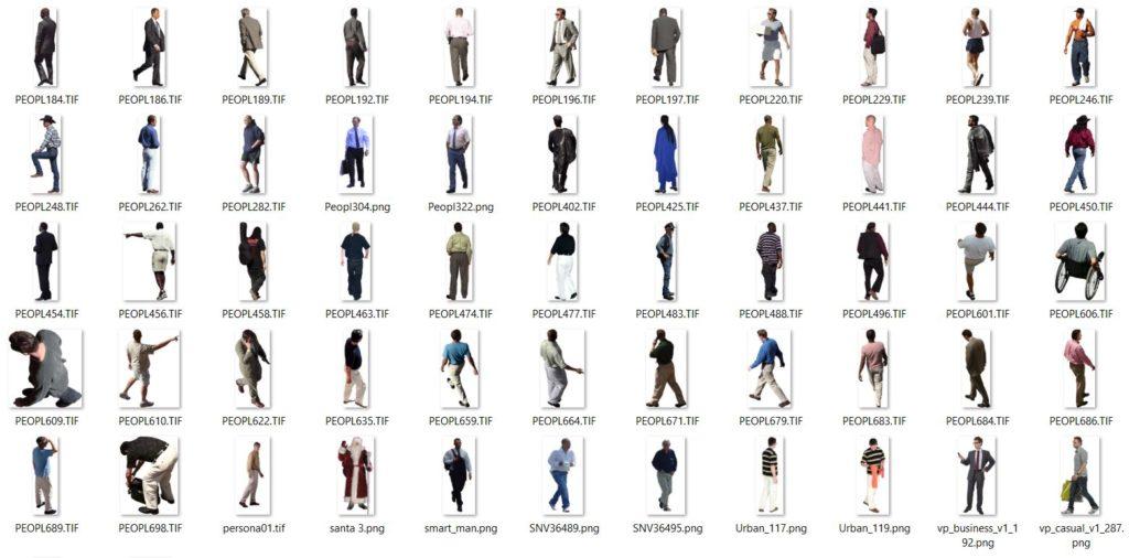 imágenes de hombres con transparencia