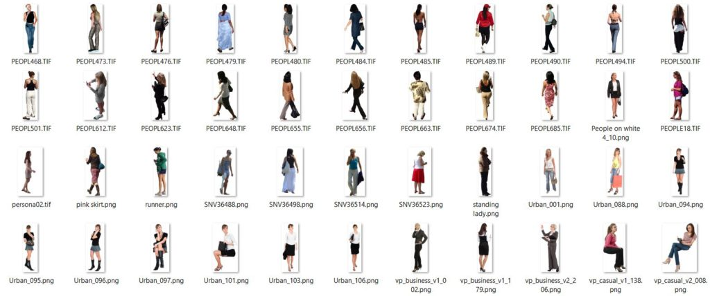 imágenes de mujeres con transparencia